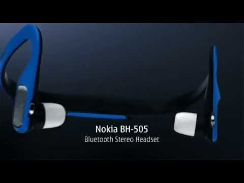 Nokia BH 505 Bluetooth Stereo Headset   White Cell Phones  Accessories