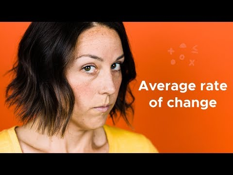 What Is Average Rate Of Change?