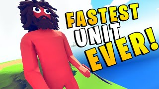 TABS - FASTEST UNIT EVER Broke My Game! - Totally Accurate Battle Simulator