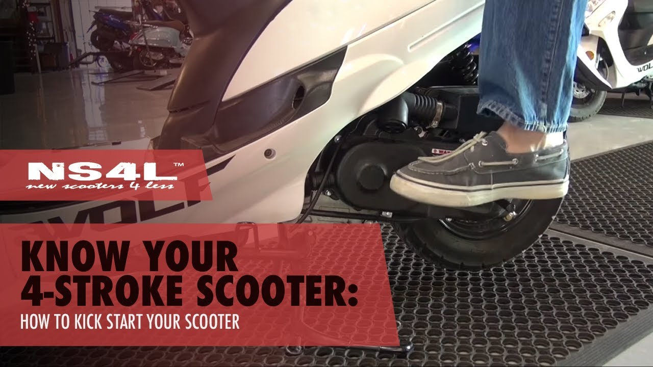 Scooter Won't Start? How to Kick Start Your Scooter | New Scooters 4 Less