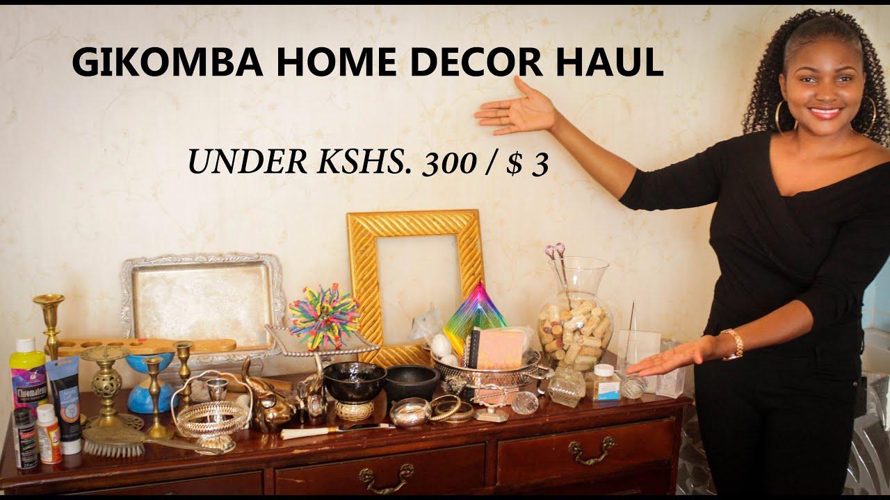 GIKOMBA HOME DECOR HAUL UNDER KSH. 26/ $26  THRIFT SHOPPING IN