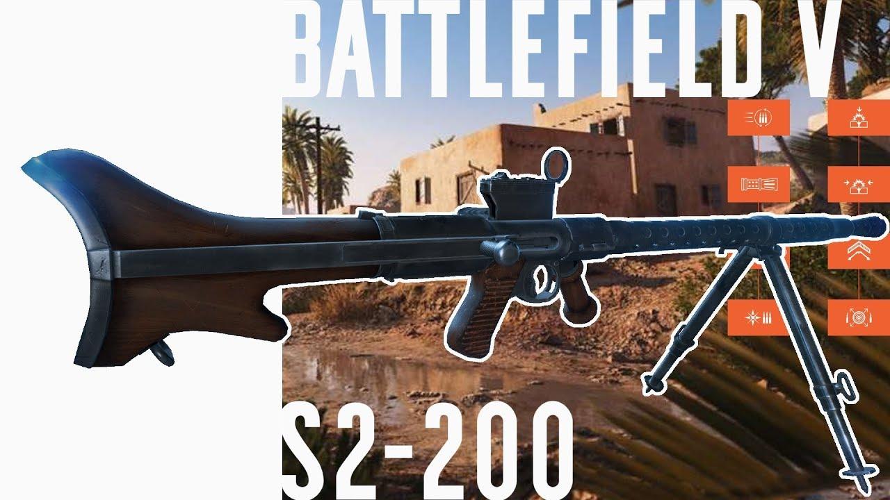 S2-200 Specialization Breakdown & Gameplay - Battlefield V - Ji3A3