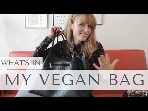What's In My Vegan Bag