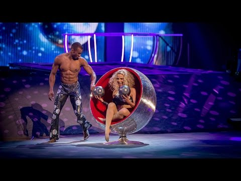 Sarah Harding & Leon Fagbemi's Rhythmic Performance to 'Le Freak' - Tumble: Episode 4 - BBC One