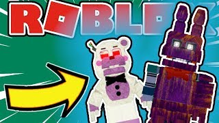 How To Get The Forgotten Phantom and Helpless Badges in Roblox FNAF Endless Nights At Freddy's