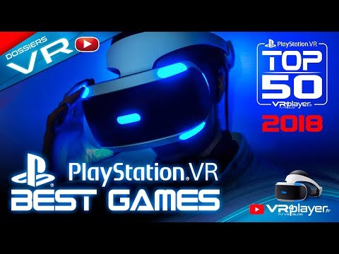 PlayStation VR PSVR : TOP 50 All the best games 2018 - VR4Player