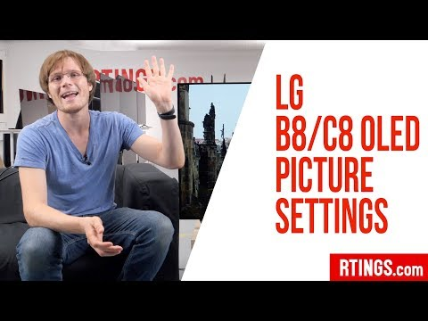 LG B8/C8 OLED Picture Settings – RTINGS com - YouTube