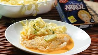 Fish filets with citrus sauce Mexican food