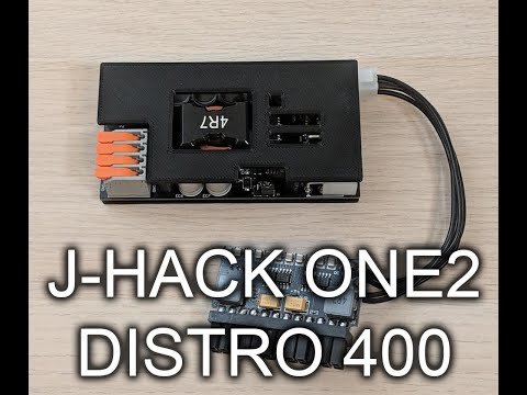 J-HACK ONE2 Distro 400 Overview
