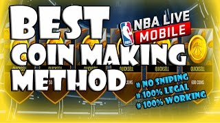 BEST COIN MAKING METHOD   Make a Million in No Time !!! NBA Live Mobile