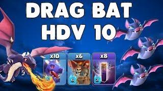 Clash of Clans - Drag BAT HDV10 (Dragon - Chauves-souris)