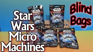 Star Wars Micro Machines Blind Bags