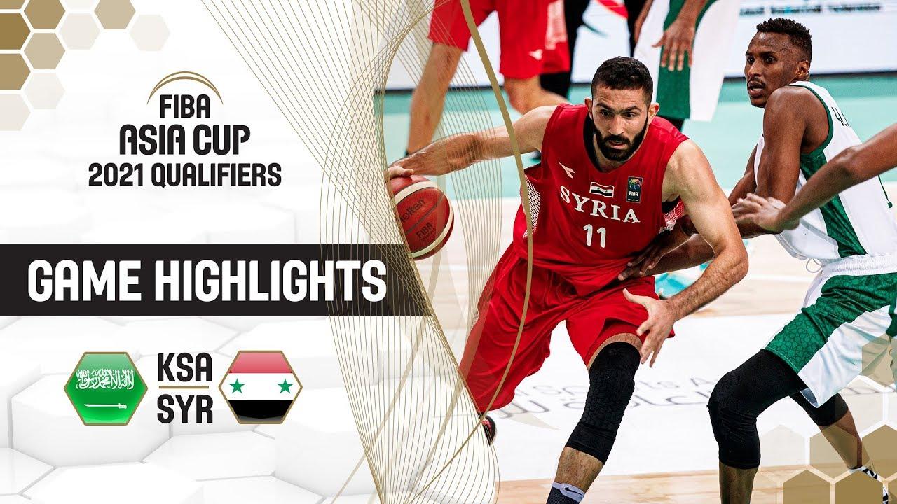 Saudi Arabia v Syria - Highlights - FIBA Asia Cup 2021