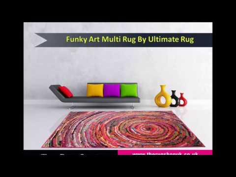 Funky Art Modern Rug Collection by Ultimate Rugs