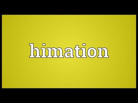 Header of himation