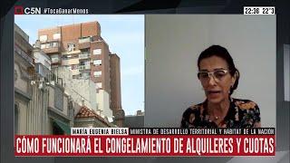 Entrevista a la ministra María Eugenia Bielsa en Brotes Verdes