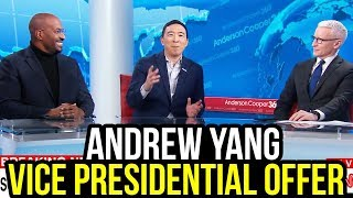 Mike Bloomberg Offers Andrew Yang Vice President Position
