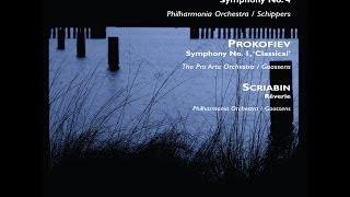 TCHAIKOVSKY Symphony No. 4  PROKOFIEV Classical Symphony  SCRIABIN Rêverie [FHR16]