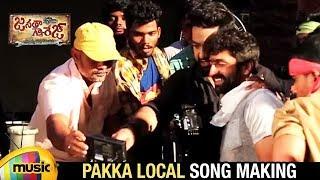 Download Hindi Video Songs - Janatha Garage Telugu Songs | Pakka Local Song Making | Jr NTR | Kajal | Samantha | Nithya | DSP