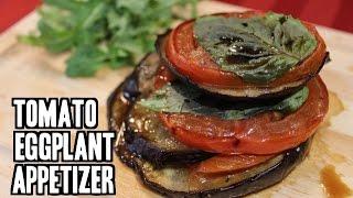Roasted Tomato & Eggplant with Basil