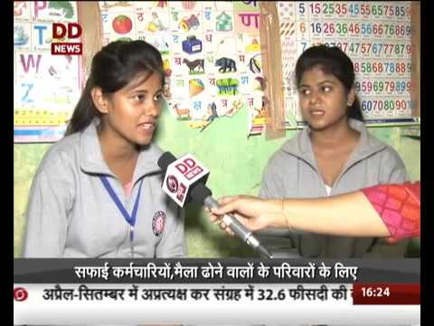 b 2278 DD News Women from Delhi slums training to become commercial drivers