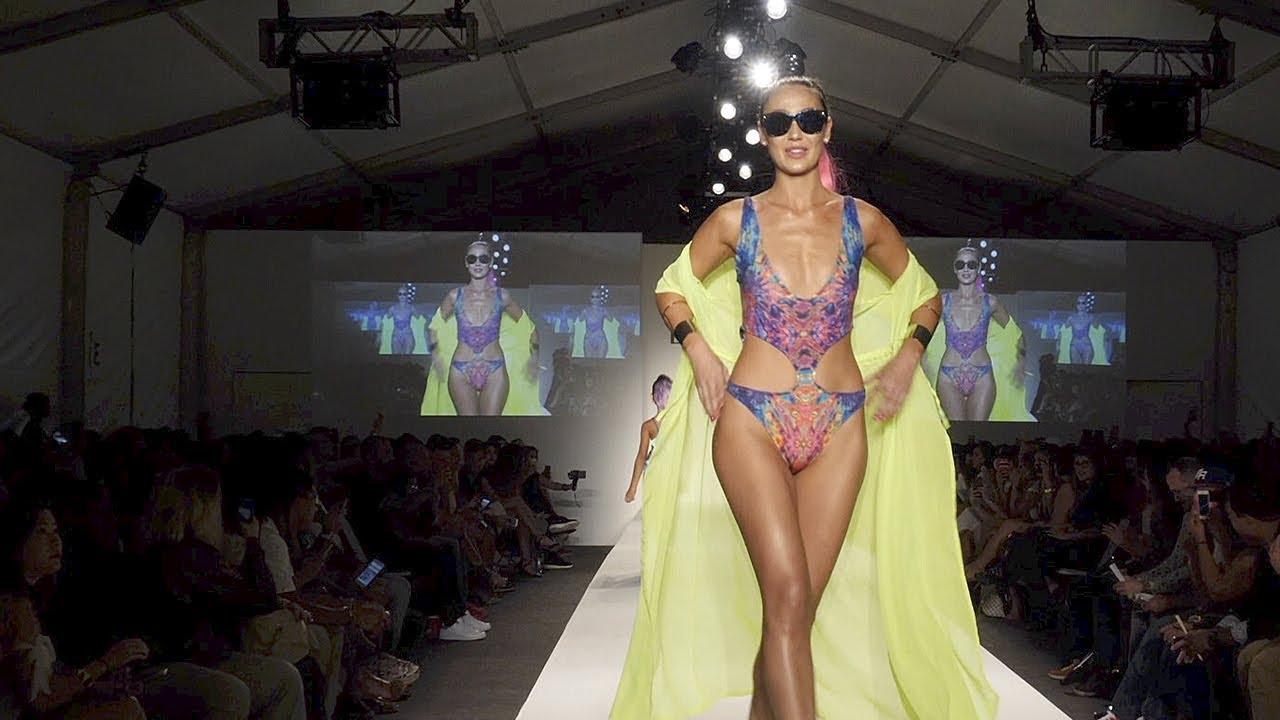 Miami fashion week swimwear spring summer 2018 dresses