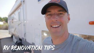 RV Renovation Tips!