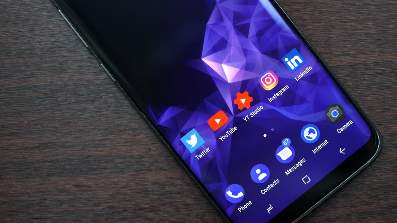 Iphone X Fluid Live Wallpaper For Android Get Galaxy S9 Wallpaper For Any Android Device Youtube