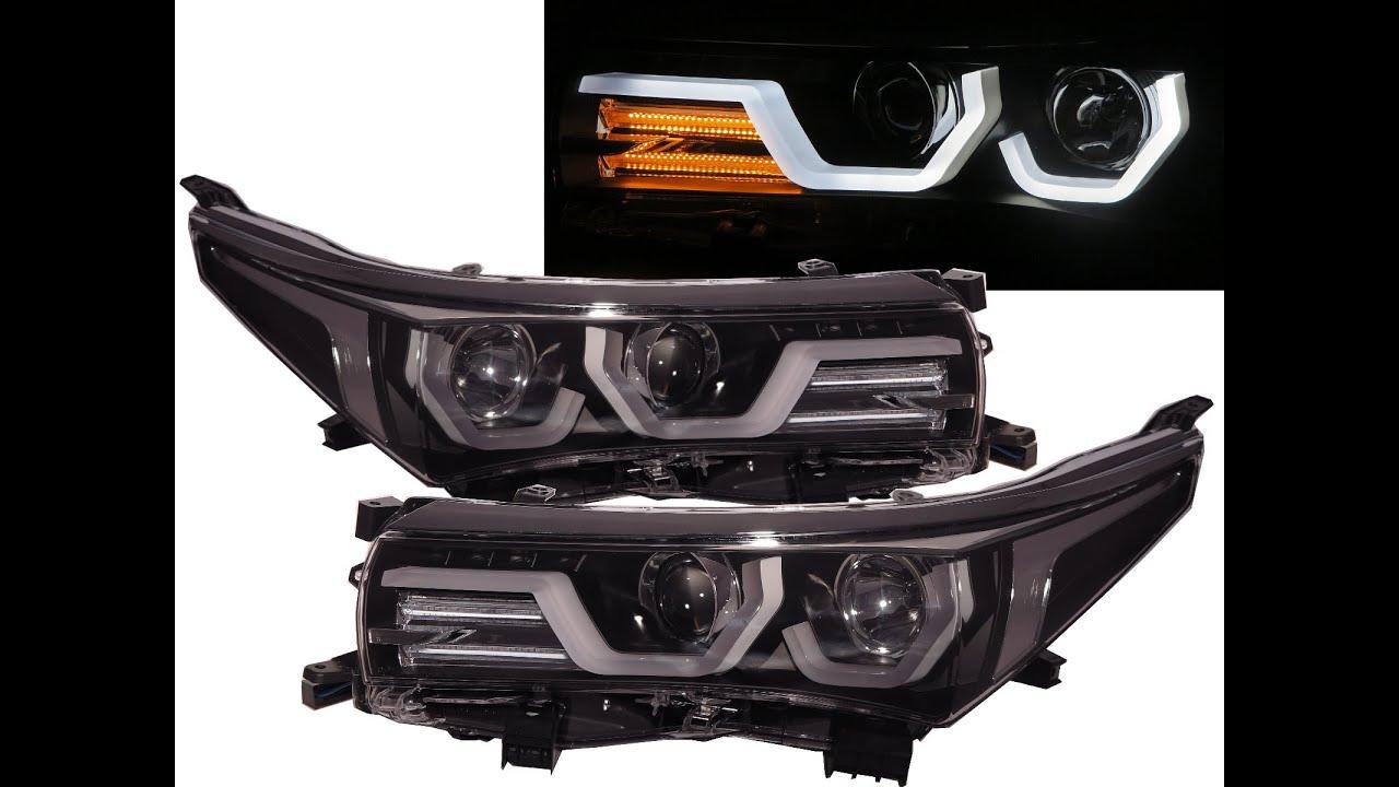 Corolla E170 Mk11 2017 Present 4d Angel Eye Led Headlight Headlamp Black For Toyota You