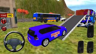 Police Car Offroad Transport Truck | Cargo Prado&Jeep | Android/ios Gameplay 2018