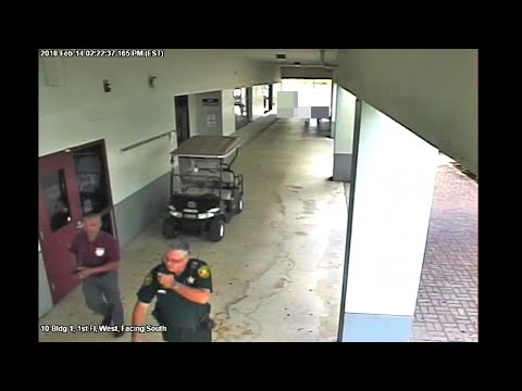New Video Shows Parkland Deputy During Shooting