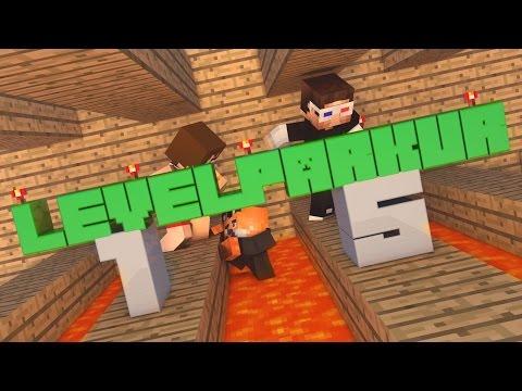 Minecraft 15 Level Parkur Haritası