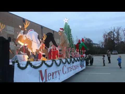 City of Center Christmas Parade Float 2016