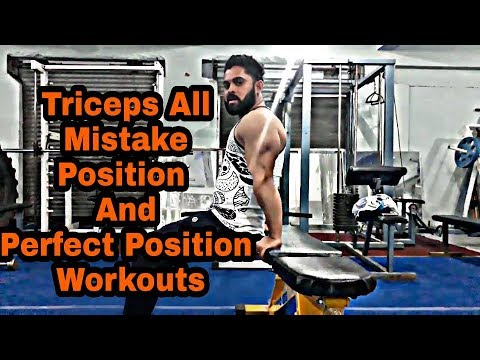 Triceps Workouts All Mistake Position And Perfect Position -: At Devraj Fitness Club
