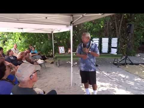 Explanation by Fred Cachola of how  Kaloko-Honokohau became a national park