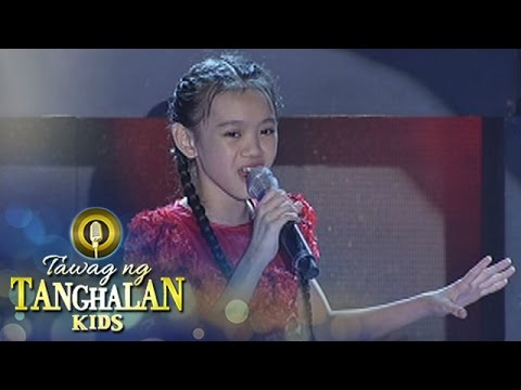 Tawag ng Tanghalan Kids: Xiulien Francisco | Kung Pag-ibig Mo'y Ulan