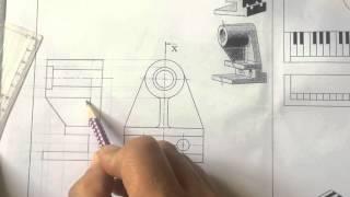 видео Сечения на чертежах