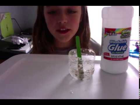 how to make cloud slime without going to the store supper easy and fun!!!