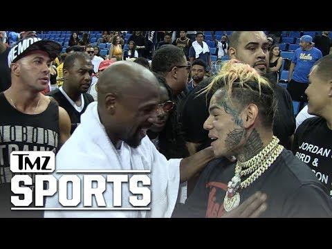 Floyd Mayweather Bros Down with Tekashi69, I'm a Big Fan!! | TMZ Sports