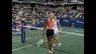 2002 US Open match point Serena Williams 3rd round
