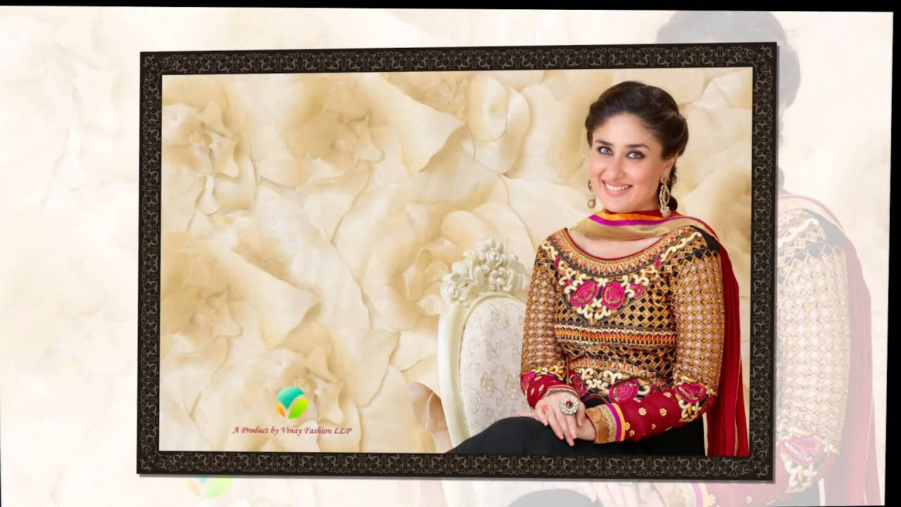 4f8a9aaccb Kareena Kapoor Photo Suit Designer Dresses - YouTube