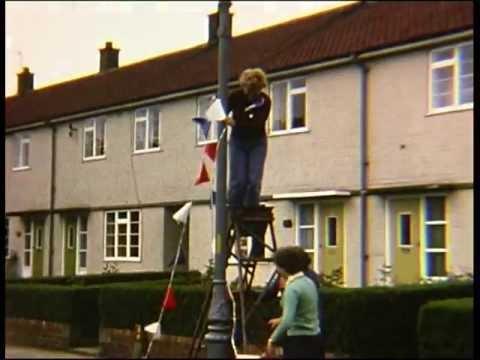 Silver Jubilee street party - 7th June 1977. Gouldsmith Gardens, Darlington.