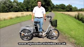 ebike - Unbelievably Eąsy to Mount Electric Trike Mobility Scooter 3 Wheeler