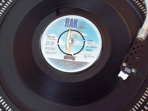 Racey - Some Girls No.2    Last Week March 1979 UK