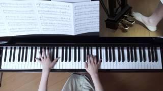 使用楽譜;ぷりんと楽譜・中級(採譜者:内田美雪)、 2017年6月11日 録画.