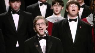 """Faith Academy Male Choir sings """"For the Longest Time""""by Bill..."""