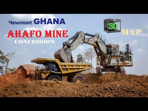 NEWMONT GHANA | AHAFO MINE CONCESSION | 4K 30FPS