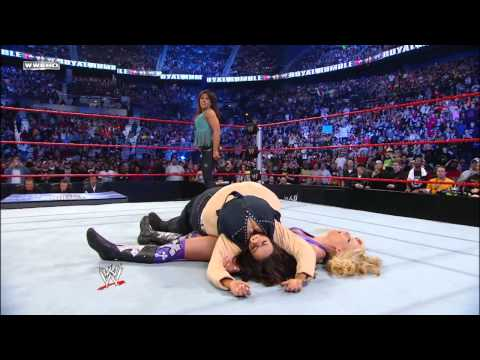 Michelle McCool vs. Mickie James - Women's Championship Match: Royal Rumble 2010