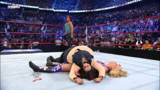 Michelle McCool Vs Mickie James Women S Championship Match Royal Rumble 2010
