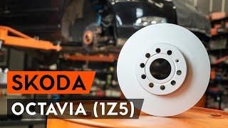 Hogyan cseréljünk Féktárcsák SKODA OCTAVIA Combi (1Z5) - video útmutató